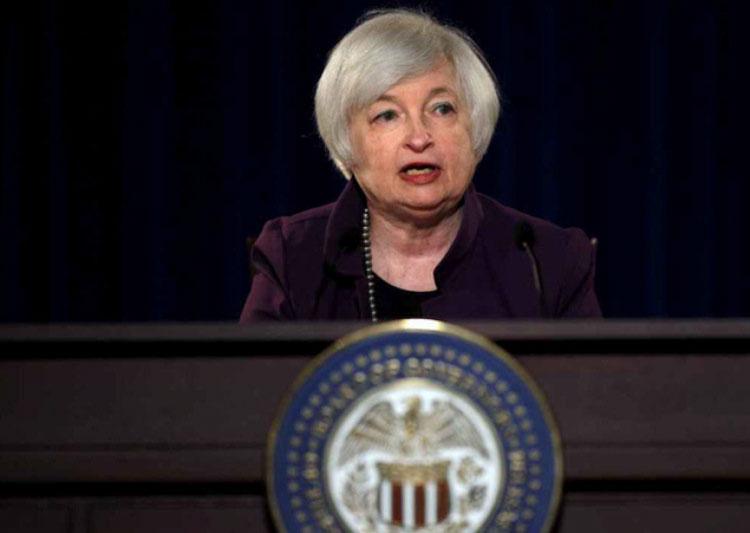 美国联储局主席叶伦在杰克森霍尔年会中,再次确认联储局今年内极有可能会升息。(图/取自路透)