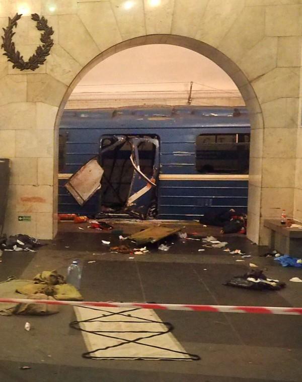 俄罗斯第2大城圣彼得堡3日遭恐攻,地铁惊爆(法新社)