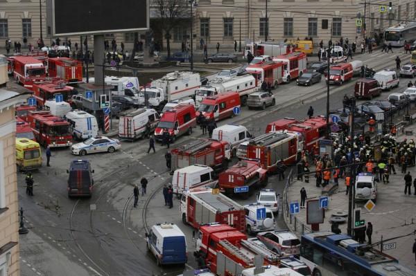 圣彼得堡官方已宣布从4日开始为此哀悼3天。(路透)