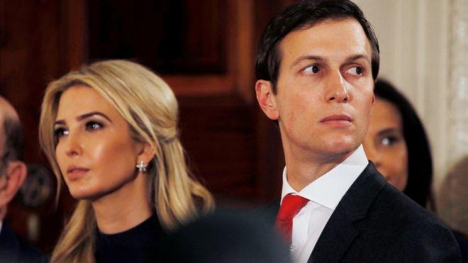 伊万卡与库什纳这对年轻夫妇被看成对特朗普的决策有重大影响力。
