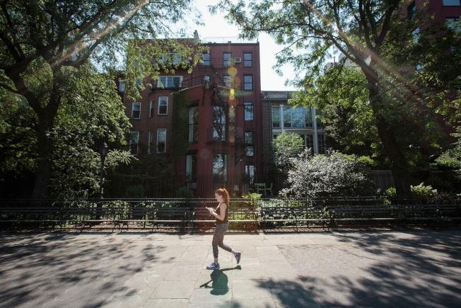 最新统计显示,布碌仑和皇后区房价持续攀升。图为布碌仑已被视为新的曼哈顿。 (Getty Images)