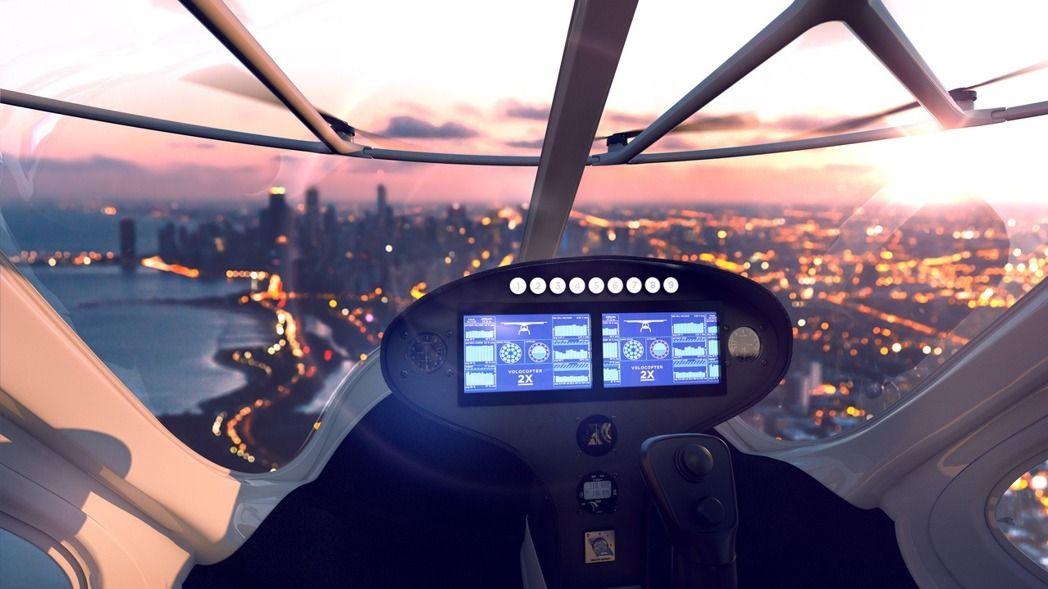 该款「计程机」采无人驾驶设计,乘客只要在智慧面板上输入欲抵达的目的地,飞天计程车就能透过在地面的指挥中心指挥,飞往乘客想去的地点。
