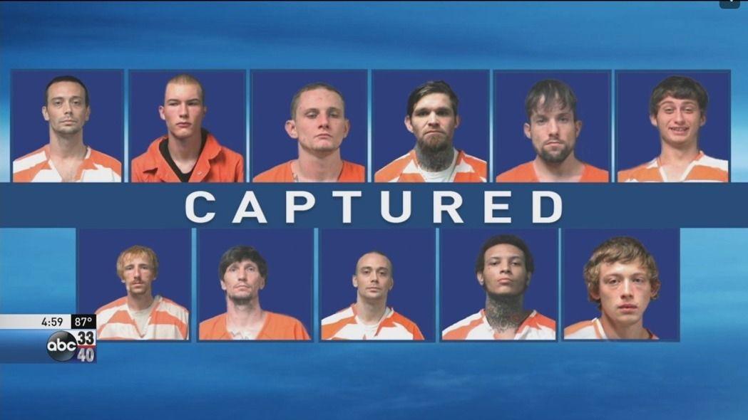 12名囚犯使用花生酱,成功越狱,其中11名囚犯被逮捕,剩一人在逃。(图/载自美国ABC新闻)