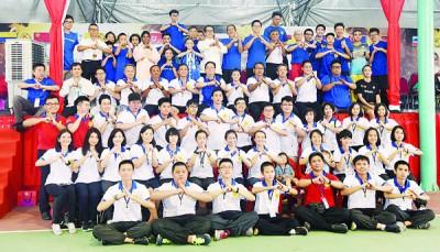 全国武术锦标赛圆满落幕,东道主槟城成为武林大会盟主。