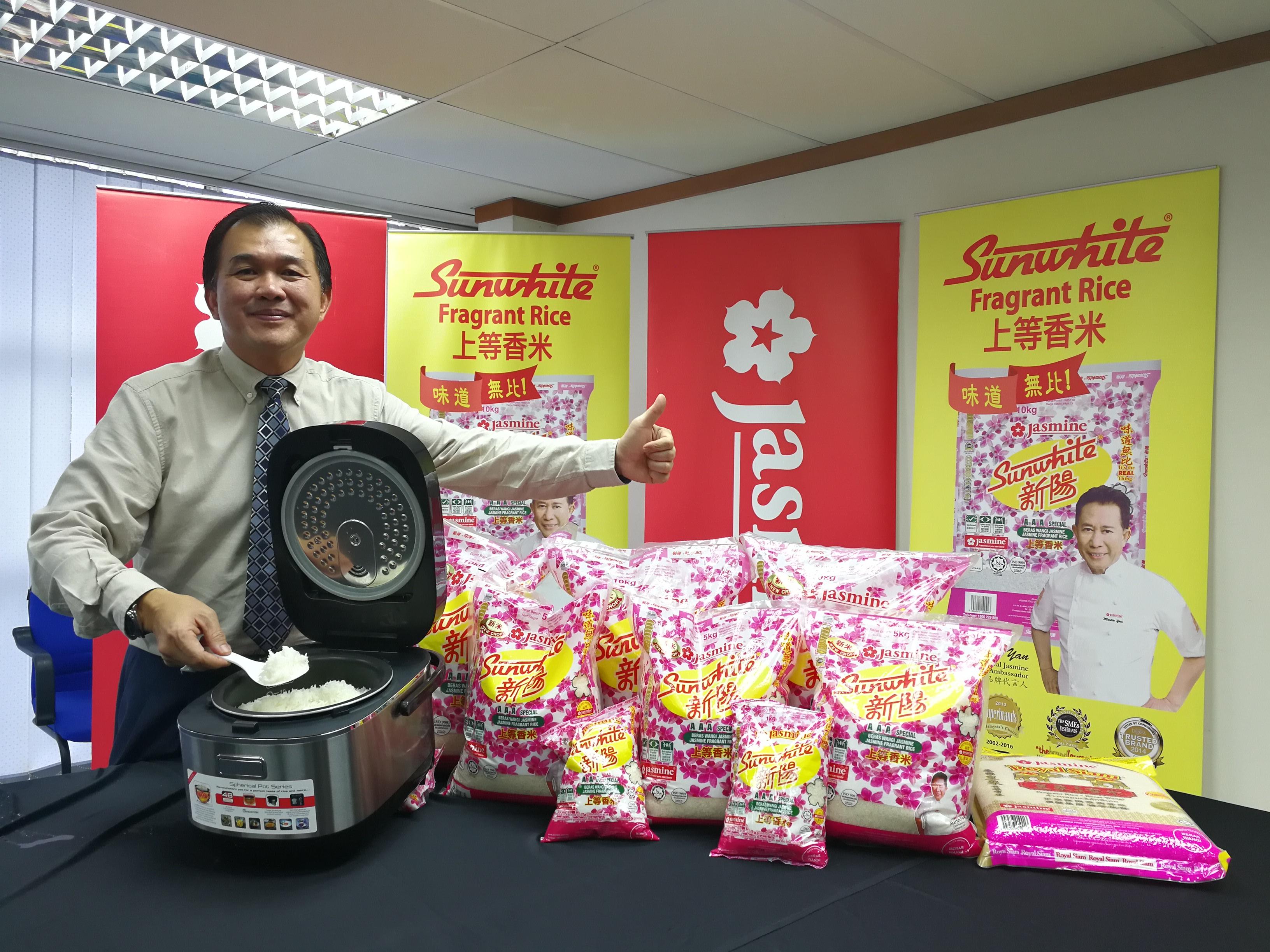 Jasmine食品机构有限公司首席执行员林瑞吉